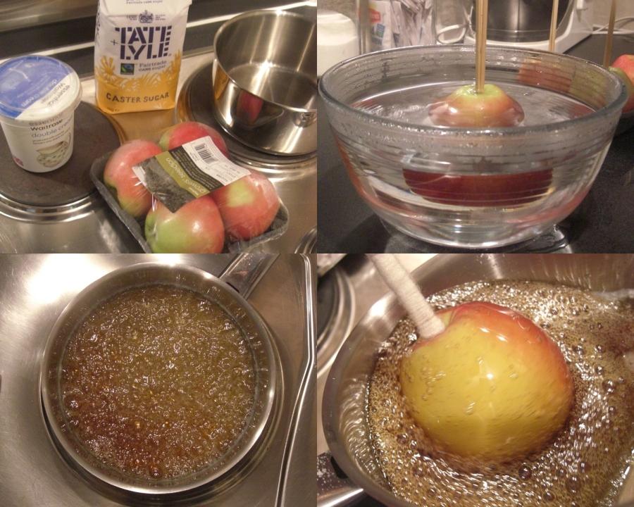 Apples step by step