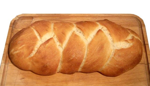 Plaited Loaf of Bread