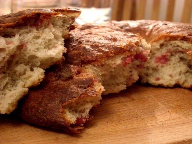 Italian Pancetta Bread
