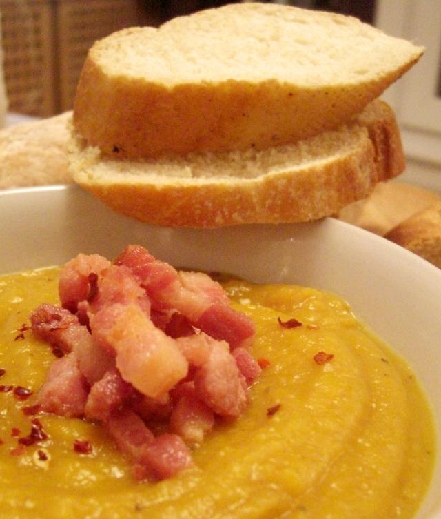 Parsnip and Pumpkin Soup