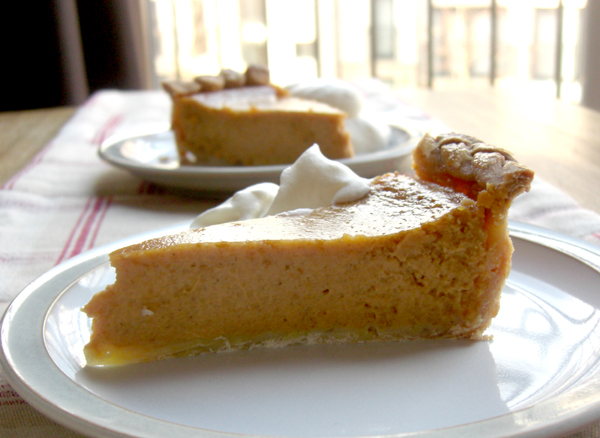 Pumpkin Pie Slice