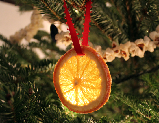now - Orange Christmas Decorations