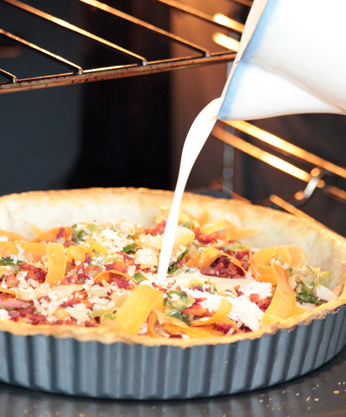 Cook: Leftover Christmas Dinner Quiche