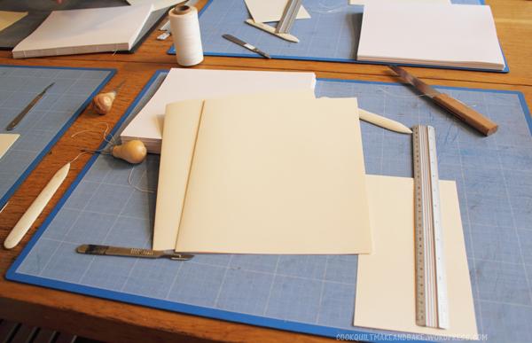 Soft Cover Book Binding Tutorial : Make book binding tutorial cookquiltmakeandbake